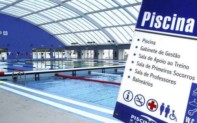 Sinalética Piscinas de Vila Franca de Xira